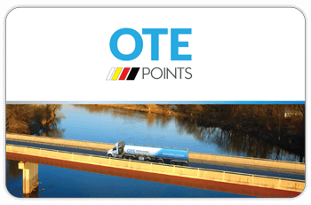 OTE Points Card