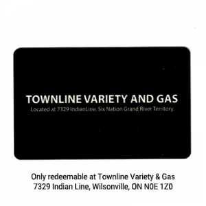 Townline Variety and Gas Gift Card